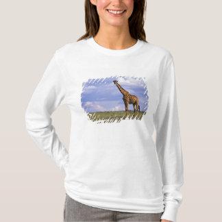 Kenya den MasaiMara leken reserverar. Kenyansk T-shirt