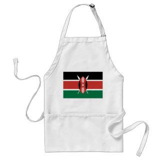 Kenya flagga förkläde