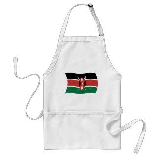Kenya flaggaförkläde förkläde