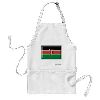 Kenya flaggajuvel förkläde