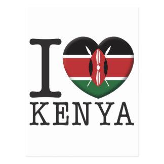Kenya Vykort