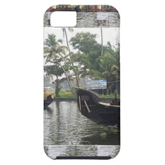 KERALA Indien FLODfartyg iPhone 5 Skydd