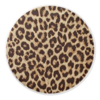 Keramisk knopp för Leopardtryck