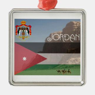 Keramisk prydnad för Jordanien Julgransprydnad Metall