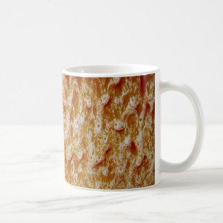 keramisk struktur kaffemugg