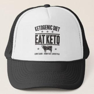 KETOGENIC BANTA: Äta Keto - Äta den låga carben, Truckerkeps