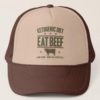 KETOGENIC BANTA: Äta nötkött - kick - fett liv, Truckerkeps