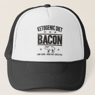 KETOGENIC BANTA: Bacon - LCHF-livsstil, Camo gris Keps