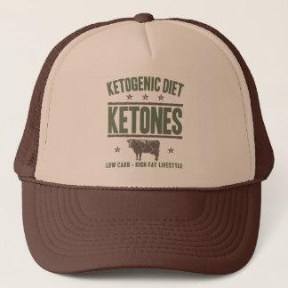 KETOGENIC BANTA: Ketones - kick - fett liv, Camo Truckerkeps