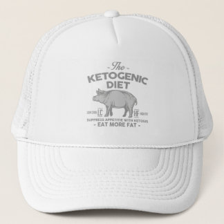 KETOGENIC BANTA: KetonesCurbaptit, grå gris Keps