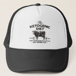 KETOGENIC BANTA: Ketosis Curbs fördjupningen, Truckerkeps