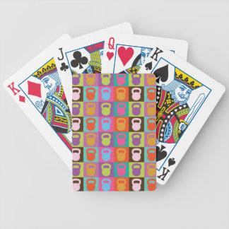 Kettlebell Retro mönster - Spelkort