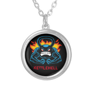 kettlehell silverpläterat halsband