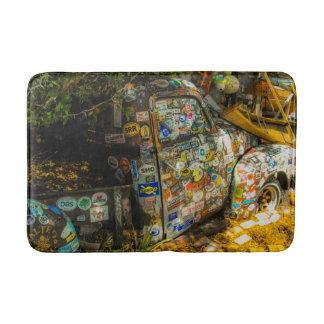 Key West är konst, gammal pickup lastbil Badrumsmatta