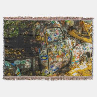 Key West är konst, gammal pickup lastbil Mysfilt