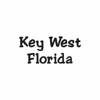 Key West Florida broderade Poloskjortan Polo Tröja