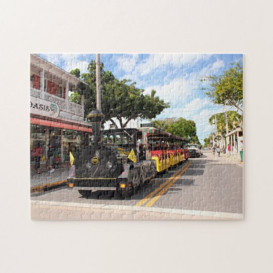Key West train Pussel