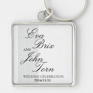 Keychain för bröllopfirandet nyckel ringar
