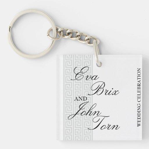 Keychain för bröllopfirandet