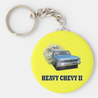Keychain med tävlings- design för Chevy II friktio Nyckel Ringar