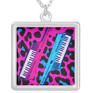 Keytar för vintage för Corey tiger80-tal Retro hal Personliga Halsband