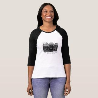 KHS-Darkroomfotografi 3/4 sleevet-skjorta Tröja