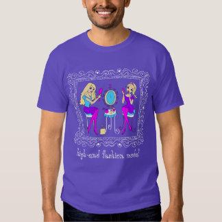 """Kick-avsluta mode tonåring - """"kick-avsluta mode t-shirt"""