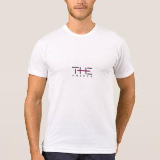 Kicken avslutar byrån - logotyputslagsplats t-shirt
