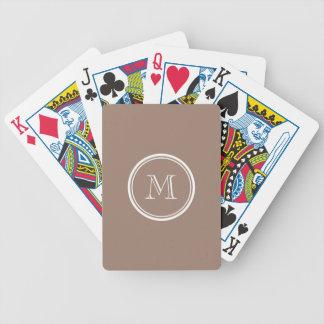 Kicken för personligbäverbrunt avslutar kulört spel kort