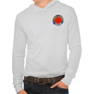 Kickenergi cirklar sto för färgrika DISKETTER för T-shirt