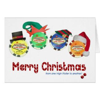 KickrullLas Vegas julkort Hälsnings Kort