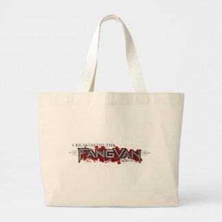 """Kickstarted jag FangVanen"" officiellen Tote Bags"