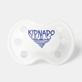 Kidnado napparblått kanaliserar napp