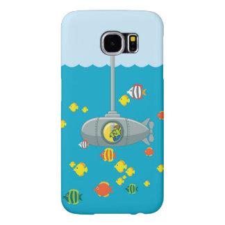 Kika den Tom ubåten (Samsung) Samsung Galaxy S6 Fodral