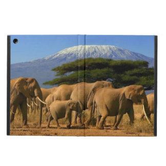 Kilimanjaro och elefanter fodral för iPad air