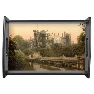 Kilkenny slott, ståndsmässiga Kilkenny, Irland Serveringsbricka