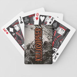 Killosopher lejona leka kort spelkort