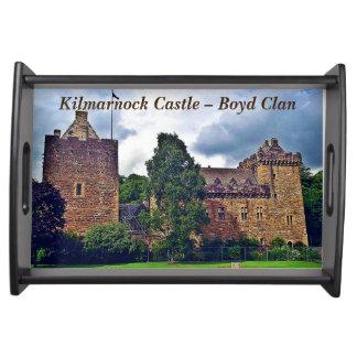 Kilmarnock slott - Boyd klan Frukostbricka