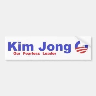 Kim Jong nolla Bildekal