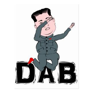 Kim Jong-Un badda Vykort