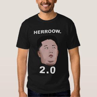 Kim Jong Un Herro 2,0 Tee Shirts