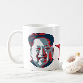 Kim Jong-un Nordkorea Kaffemugg