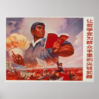 Kinesisk propaganda poster