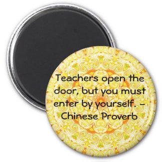 Kinesisk Proverb Magnet