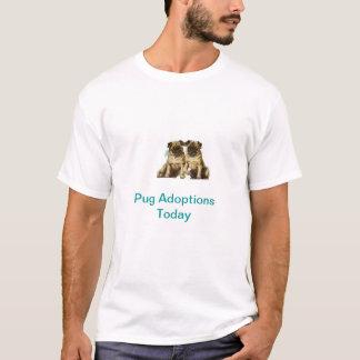 Kinesisk T-tröja för mopsadoption i dag T Shirt