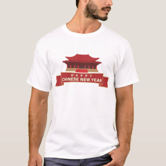 Kinesisk T-tröja för nytt år Tee Shirt