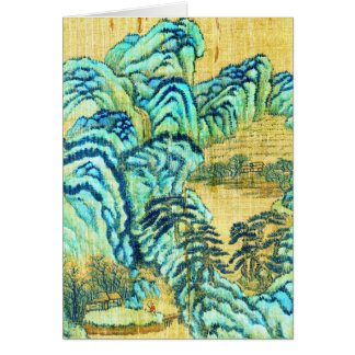 Kinesisk Teahouse 1730 Hälsningskort