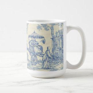 Kinesiska blått Toile Kaffemugg