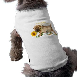 Kinesiska Shar-Pei teckengåvor Hundtröja