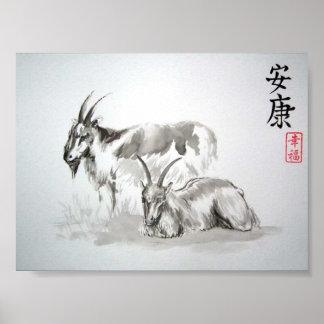 kinesiska zodiacgetgetter poster